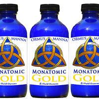 Mono Atomic Rose Gold ORMUS MANNA Supplement, great for Yoga, Qigong, Meditation