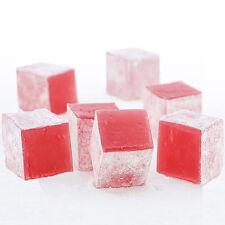 No gelatine/Glucose TURKISH DELIGHT 4 Kg ROSE FLAVOURED BULK
