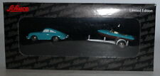 Schuco Piccolo 450164700 Porsche 356 a Coupe + Boat on a trailer in 1:90 scale
