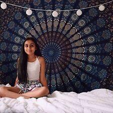 Indian Hippie Mandala Tapestry Bohemian Bedding Bedspread Wall Hanging Ethnic