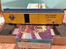 Ho Scale Athearn #???? DELAWARE & HUDSON 50' STEEL DOUBLE DOOR BOXCAR 34829