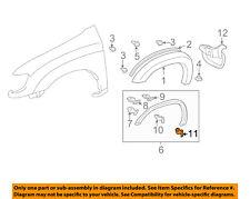 TOYOTA OEM 00-06 Tundra Fender-Wheel Fender Flare Molding Retainer 753920C050