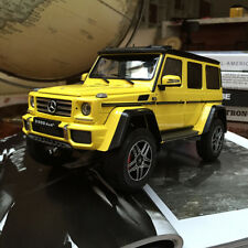 NEW Almost Real 1/18 Mercedes Benz G500 4X4 Diecast Open close Car  Model Yellow