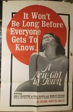A NEW GIRL IN TOWN ADULT MOVIE POSTER MUST SEE, LOLA VALENTINE, JULIE HAYES