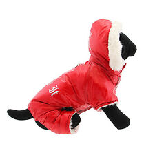 SMALL DOG SNOW COAT yorkie chihuahua maltese DESIGNER DOG SNOW JACKET SHIPS US