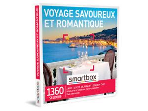 """smartbox """" Voyage savoureux et romantique """""""