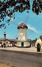 Indianapolis~Children's Zoo~Dutch Windmill~Wooden Shoe Telephone Booth~1964