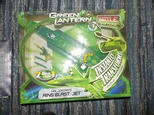 Green Lantern Hal Jordan's Ring Blast Battle Shifter Jet/Tank  Transformer