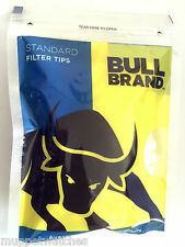 4 x Bags of BULL BRAND STANDARD SIZE 'CHUNKY' 8mm CIGARETTE TOBACCO FILTER TIPS