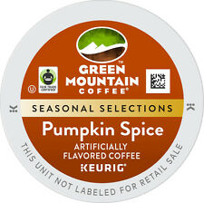 Green Mountain Pumpkin Spice Coffee 96 count Keurig K cup Pods FREE SHIPPING