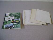 R/C Modeler Magazine Airplane Blue Prints Vintage Prints & Giant Scale Handbook