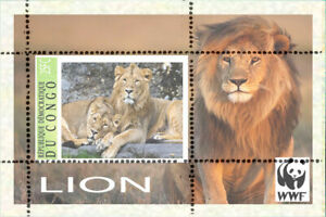 LION   - 8 SHEETS private issue LIMITED EDITION!!!