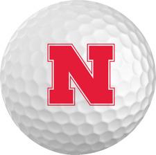 Nebraska Cornhuskers Titleist ProV1 Refinished NCAA Golf Balls 12 Pack