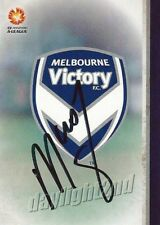 ✺Signed✺ 2015 2016 MELBOURNE VICTORY A-League Card KEVIN MUSCAT