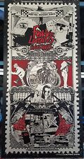 Closed-run limited Fear and Loathing in Las Vegas screenprint poster 59/123 RARE