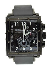 Jacob & Co Epic 2 Chronograph Black Stainless Steel Watch