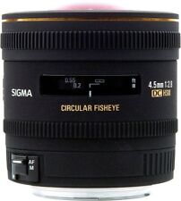 Sigma 4,5mm 1:2,8 EX DC HSM zirkular-fisheye for Canon