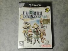 FINAL FANTASY CRYSTAL CHRONICLES NINTENDO GAMECUBE e WII ITALIANO TRIANGOLO BLU