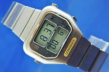 Reloj Digital Vintage Retro Longines Cuarzo LCD Circa 1970s SEC 934.711