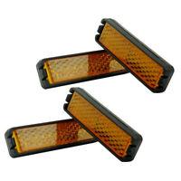 2x Bike Bicycle Spoke Reflector Safety Warning Light Reflective Wheel Rim S8G1