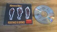 CD Ethno Mzwakhe Mbuli - Resistance Is Defence (10 Song) EARTHWORKS