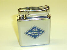 IBELO MONOPOL AUTOMATIC POCKET WICK LIGHTER W. LACQUER LOGO - 1952 - GERMANY