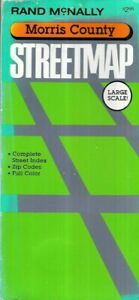 Rand McNally, Morris County, Large Scale Street Map, -1991 - Index & Zip Codes