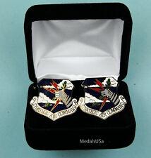 Sac Strategic Air Command Air Force Cuff Links in Presentation Gift Box