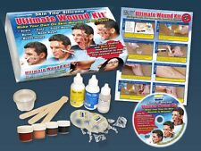 Smooth-on Skin-tite Ultimate Wound Kit FX Silicone Appliance Kit W Dvd!