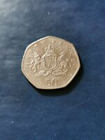2013 Christopher Ironside 50p Coin.