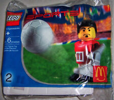 2004 McDonalds Happy Meal: LEGO SPORTS #2: SOCCER PLAYER - New, Sealed!