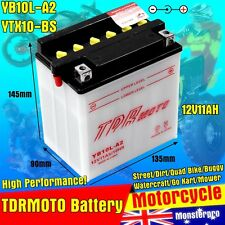 12V MOTORCYCLE BATTERY YB10L-A2 CB10L-A2 For YAMAHA VIRAGO XV250