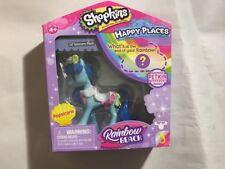 New Shopkins Happy Places Lil' Unicorn Popsicorn Rainbow Beach Figure