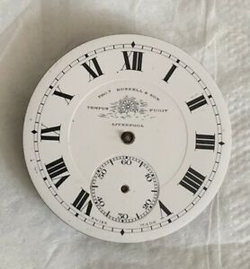 THOMAS RUSSELL & SONS OF LIVERPOOL POCKET WATCH MOVEMENT SPARES AND REPAIRS