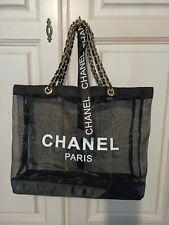 Chanel vip Gift ~ CC Logo Shopper/ Tasche aus Mesh
