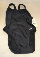 Speedo Women's Solid Super ProLT One Piece Swimsuit, Black / 30