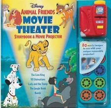 Disney Animal Friends Movie Theater Storybook and Projector by Sarah E....