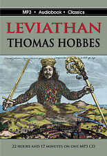 Leviathan by Thomas Hobbes - MP3 CD in DVD case