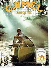 PUBLICITE ADVERTISING 116  1988  les  briquets Camel  par Zippo