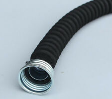 BLK Respirator Gas Mask 50mm Ruber Hose Tube Connection For Gas Mask And Filter