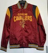 NBA Cleveland Cavaliers Basketball Burgundy Varsity Jacket Men's Size Small