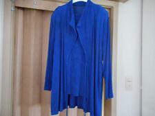 Made in France  Moderner Dreiteiler  Jacke Top & Rock  blau  Größe 40