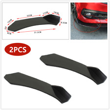 2*Car Front Bumper Lower Lip Splitter Diffuser Chin Spoiler Protect Fit For BMW