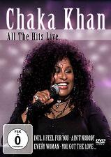 DVD Chaka Khan Todos The Hits Live