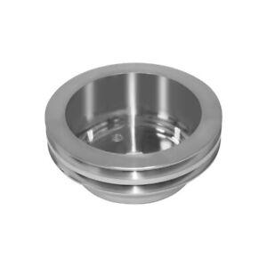 Aluminum Crankshaft Pulley 2 Groove Lwp Long Water Pump For SBC Chevy 350 Crank