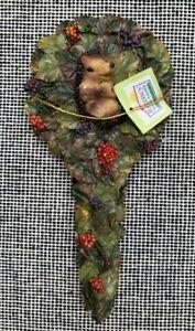 REGENCY Home & Garden Resin Frog Ornament on Stick Stake  Plant Pot decoration