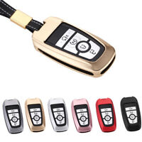 Metal 3 4 5 buttons smart Key Case Fob cover for Ford Mondeo 2017 2018 F150 F250