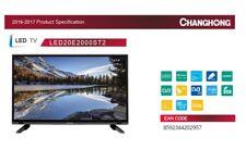 "20"" LED TV 50 cm 20E2000ST2 HD Fernseher, DVB-S2/-C/-T2, HDMI, 12V & 220V, EEK A"