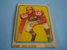 1963 TOPPS CFL FOOTBALL BOBBY JACK OLIVER CARD #43***MONTREAL ALOUETTES***