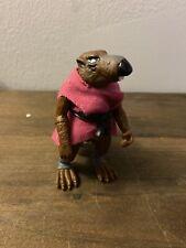 TMNT Splinter Soft Head With Belt And Cape 1988 Ninja Turtles Vintage